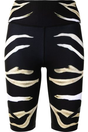 Camilla Damen Shorts - Zebra print bike shorts