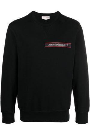 Alexander McQueen Logo tape long sleeve sweatshirt
