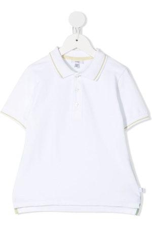 KNOT Jungen Poloshirts - Stripe-detail polo shirt