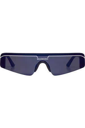 Balenciaga Damen Skiaccessoires - Ski rectangular-frame sunglasses