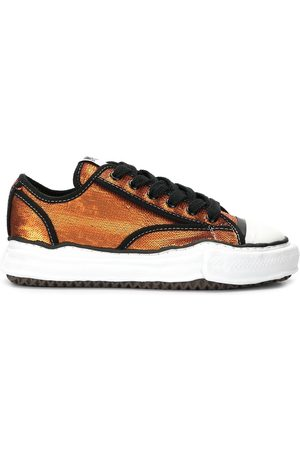 Maison Mihara Yasuhiro Sneakers - Sequin-embroidered low-top trainers