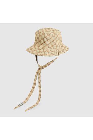 Gucci Damen Hüte - Wendbarer Hut aus GG Canvas und Nylon