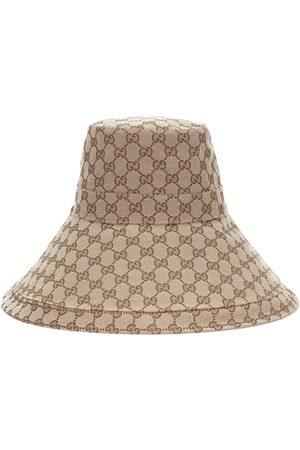 Gucci Hut aus Canvas