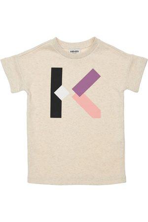 Kenzo Baumwollkleid Mit Logodruck