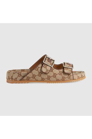 Gucci Herren Clogs & Pantoletten - Herrenpantolette mit Riemen