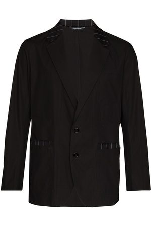 Dolce & Gabbana Herren Blazer & Sakkos - Stripe-trim single-breasted blazer