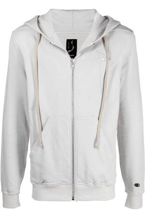 Rick Owens Herren Sweatjacken - Drawstring-hood jacket