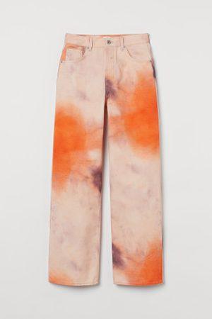 H&M Wide High Waist Jeans
