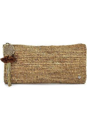 florabella Mayotte Clutch in - Tan. Size all.