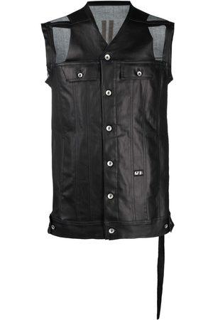 Rick Owens Distressed sleeveless jacket