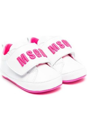 Msgm Touch-strap logo sneakers