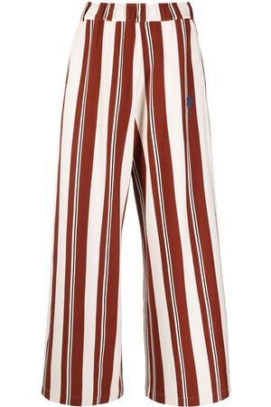 Opening Ceremony Vertical-stripe high-waisted trousers