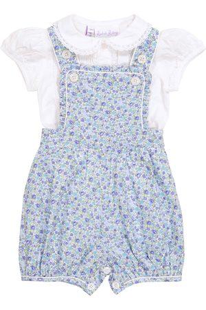 Rachel Riley Baby Set aus Bluse und Latzhose