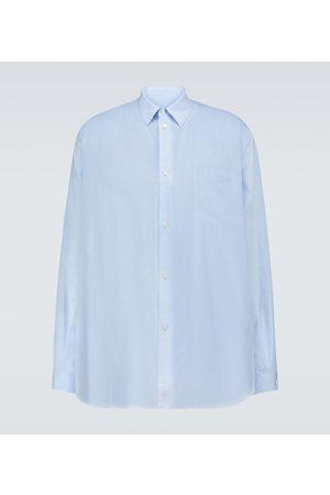 UNDERCOVER Oversize-Hemd aus einem Baumwollgemisch