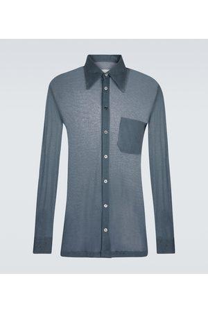 Maison Margiela Hemd aus Seide und Baumwolle