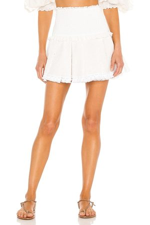 CHIO Damen Miniröcke - Ruffle Mini Skirt in - . Size L (also in XS, S, M).