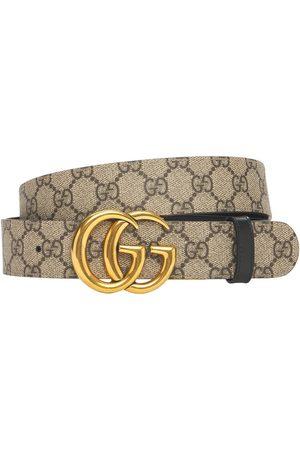 "Gucci Damen Gürtel - 3.7cm Breiter Ledergürtel ""gg Marmont"""