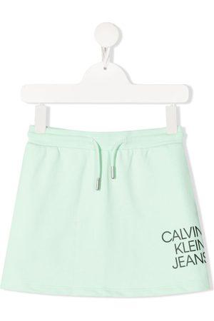 Calvin Klein Logo-print mini skirt