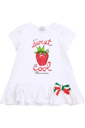 MONNALISA Mädchen Shirts - T-Shirt aus Baumwoll-Jersey