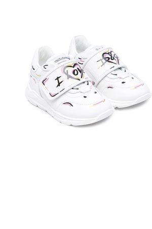 Dolce & Gabbana Love-print sneakers