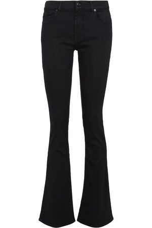 7 for all Mankind High-Rise Bootcut Jeans B(AIR)