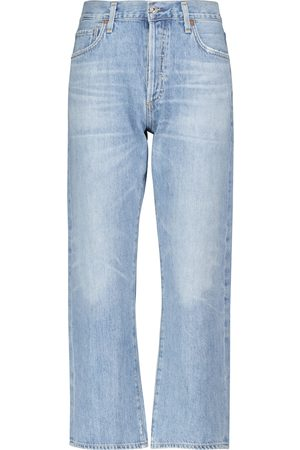 Citizens of Humanity High-Rise Cropped Jeans Emery