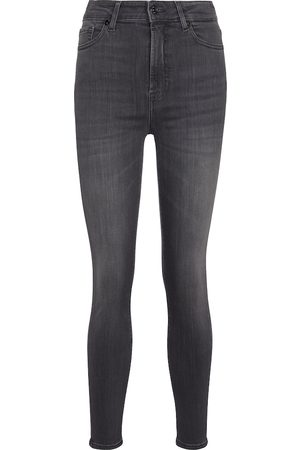 7 for all Mankind High-Rise Jeans Aubrey Slim Illusion Luxe