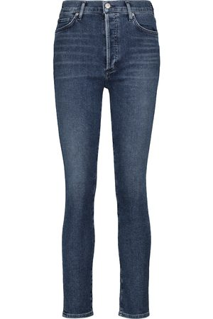 Citizens of Humanity High-Rise Slim Jeans Olivia
