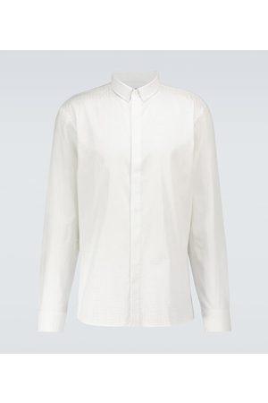 Balmain Bedrucktes Hemd aus Baumwolle