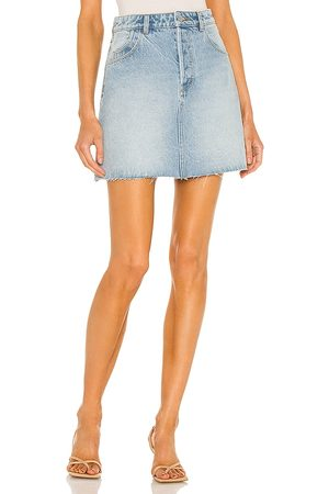 Rollas Classic Mini Skirt in - Blue. Size 24 (also in 26, 25, 27, 28, 29, 30, 31).