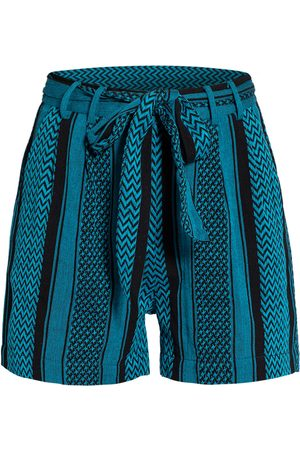 Mrs & HUGS Shorts blau