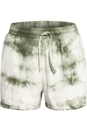 Mrs & HUGS Damen Shorts - Shorts weiss