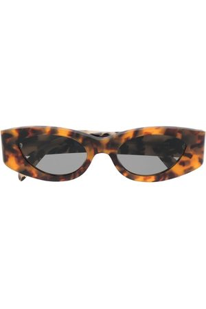 Retrosuperfuture Tortoise-effect cat-eye sunglasses