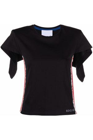 KOCHÉ Damen Blusen - Lace-trim blouse