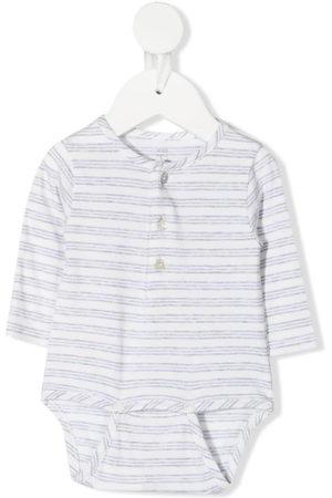 KNOT Baby Bodies - Mattie stripe-print bodysuit