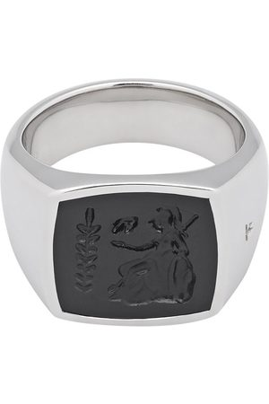 TOM WOOD Athena onyx-embellished ring