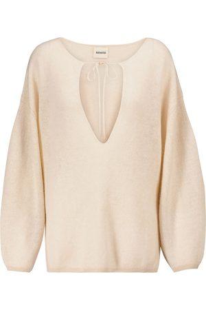 Khaite Damen Strickpullover - Pullover Jamie Lynn aus Kaschmir