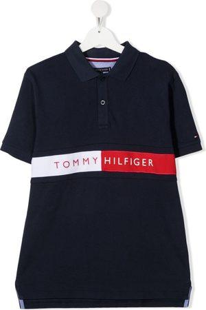 Tommy Hilfiger Poloshirts - TEEN Flag logo polo shirt