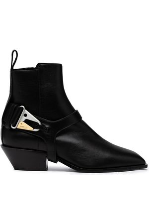 DION LEE Harness detail ankle boots