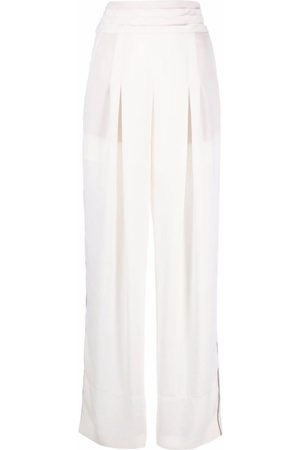 KOCHÉ High-waisted wide-leg trousers