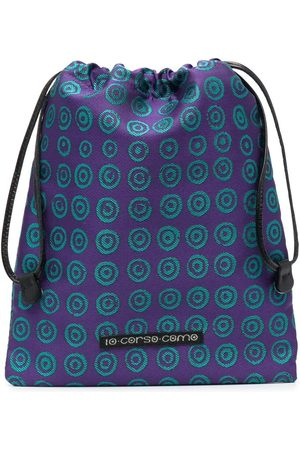 10 CORSO COMO Damen Kulturbeutel - Geometric-print makeup bag