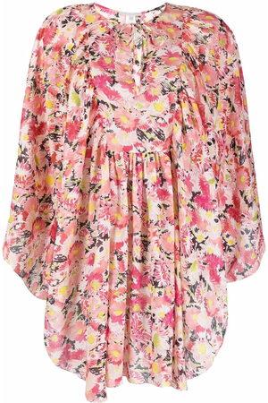 Stella McCartney Floral-print organic-cotton kaftan