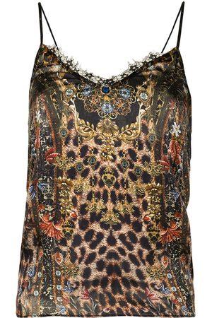 Camilla Abingdon Palace lace-trim cami top