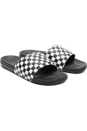 Vans Herren Checkerboard La Costa Pantoletten
