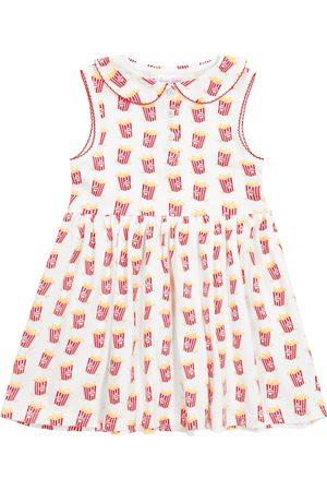 Rachel Riley Mädchen Bedruckte Kleider - Bedrucktes Kleid aus Baumwoll-Jersey