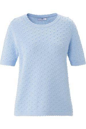 Peter Hahn Rundhals-Pullover aus 100% SUPIMA®-Baumwolle
