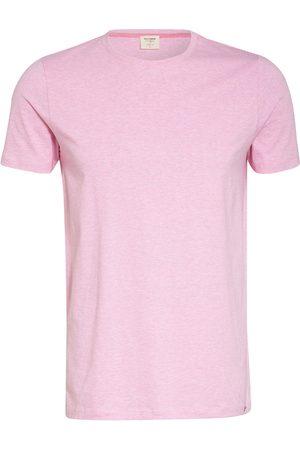 Olymp Herren Shirts - T-Shirt Level Five Body Fit rosa