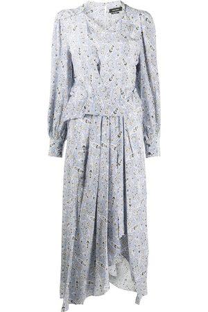 Isabel Marant Paisley print silk midi dress