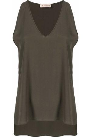 BLANCA Damen Tanktops - V-neck vest top