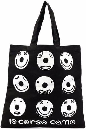 10 CORSO COMO Smile canvas tote bag